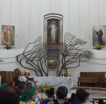 WYD Poland chapel