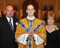 Fr. Kautzky with parents
